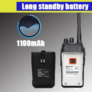 safe retevis RT21 walkie talkie battery