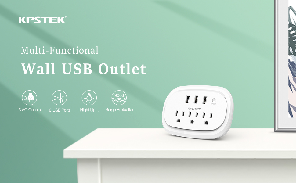 Wall USB Outlet