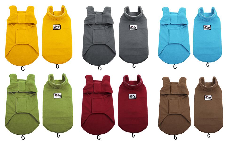 Winter Coats for DogsThickened Reflective Windproof Waterproof Design Dog Life Jacket Fleece Apparel