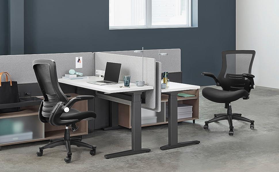 mesh office chair mesh desk chair comuter chair mesh task chair ergonomic office chair with armrests