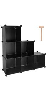 Plastic Cube Storage