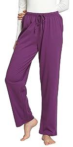women sleepwear cotton pajamas pants loungewear bottoms soft comfy