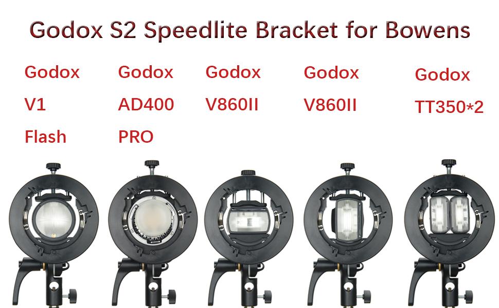 Godox S2 Flash Bracket