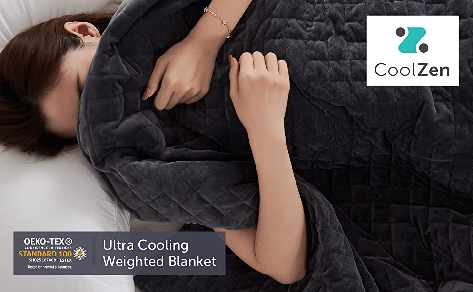 Cooling Weighted Blanket CoolZen