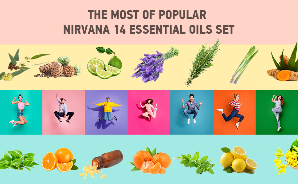 Top 14 Essential oils set