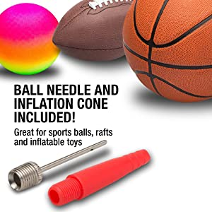 Sports Ball inflation cone Adapters