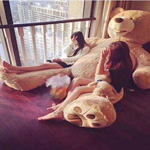 巨大ぬいぐるみ 巨大クマ 抱き枕 特大サイズ 熊 ぬいぐるみ 大きい 特大ぬいぐるみ 玩具熊 等身大 ぬいぐるみ b074sd9g53 巨大テディベア