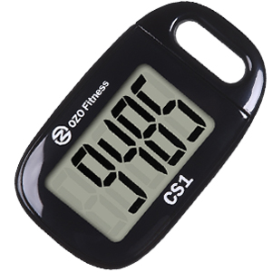 easy pedometer for walking simple step tracker counter seniors easy to use elderly ozo fitness cs1