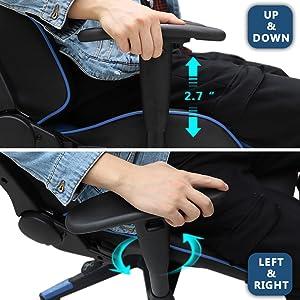 3D Adjustable Armrest