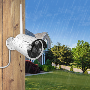waterproof  【1TB Hard Drive Pre-installed】SMONET 1080P Wireless Security Camera System,8-Channel Full HD Wireless Home Camera System, 4pcs 2.0MP Indoor Outdoor Surveillance Cameras,P2P,Super Night Vision,Free APP 632a0b37 ae3f 4ede b574 ad7530d81cb7