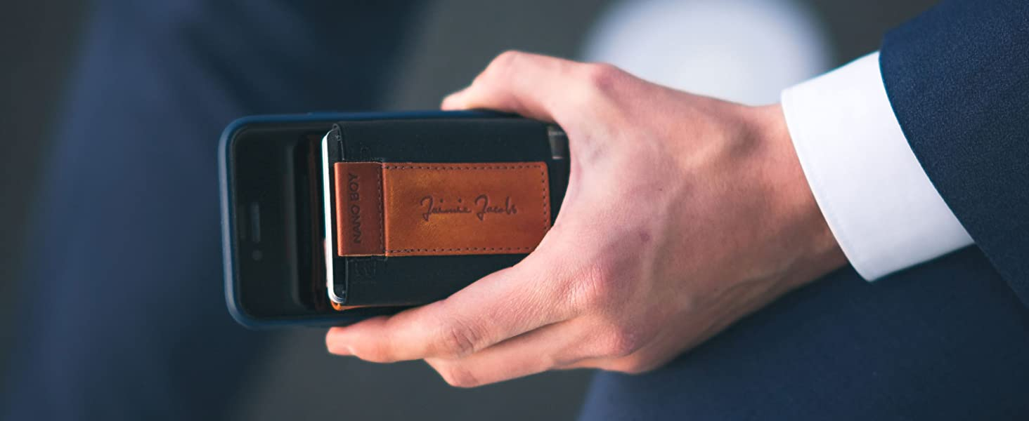 jaimie jacobs nano boy pocket mini wallet
