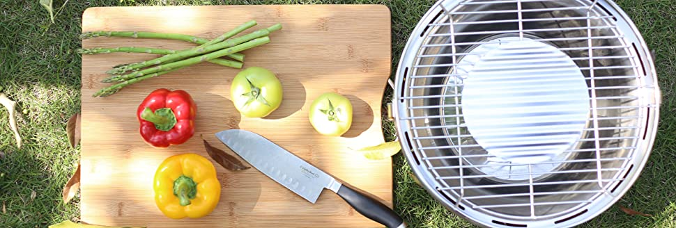 The Smartest Charcoal Grill.