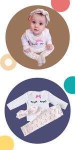 Ropa de Primavera y Verano Bebé Niño Niña Camiseta Tops Camisas niños + Pants Pantalones 2 Pcs