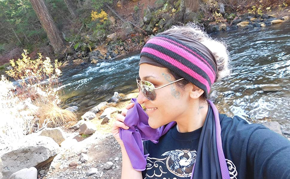 Cooling Towels for Hiking Trekking