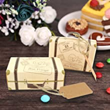 suitcase candy boxes