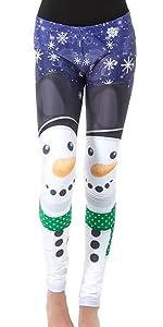 snowman legging, holiday man legging, snow man ugly legging, snow holiday legging