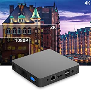 2.mini computers mini pc small computer cheap pc windows 10 pro pc 4K ultra high definition pictures