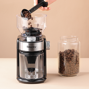 burr coffee grinder electric
