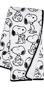 Classic Snoopy Blanket