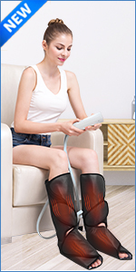 foot leg massager heat