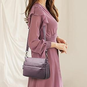 Women Leather Purses and Handbags