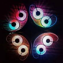 led light fan