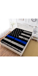 flag fitted sheet