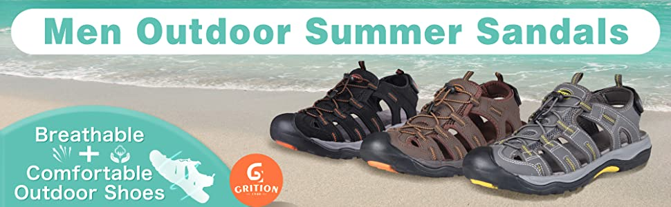 men outdoor summer sandals breathable comfortable