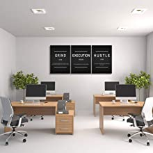 quotes painting letters wall art office wall picture Inspirational Print