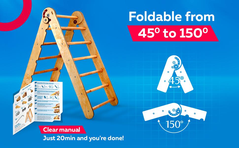 ladder for kids pikler