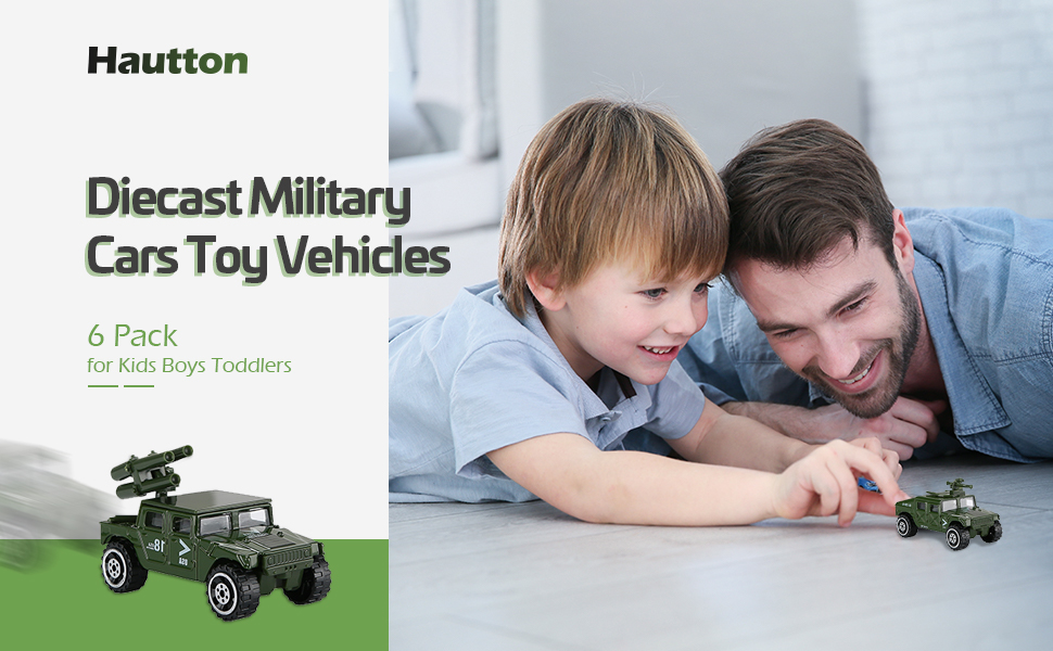 Diecast Military Cars Toy Vehicles