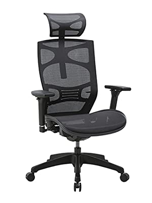 Amazon Com Clatina Ergonomic Mesh Executive Chair With 4d Arm Rest And Adaptive Synchronize Seat High Back Swivel For Home Office Furniture Decor