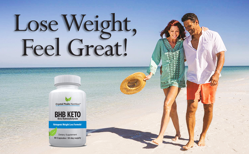 Lose weight with BHB Keto diet supplement