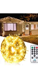 330FT 800 LED Christmas String Lights