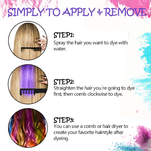 hair dye temporary