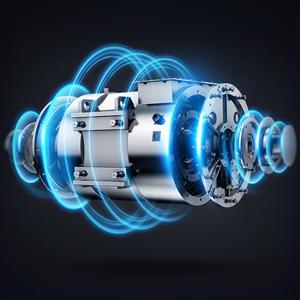 12000Pa motor de alta eficiencia