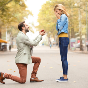 Marriage Proposal - Beverly Hills Jewelers