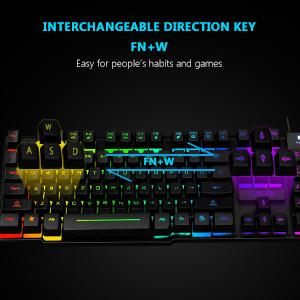 rainbow gaming keyboard