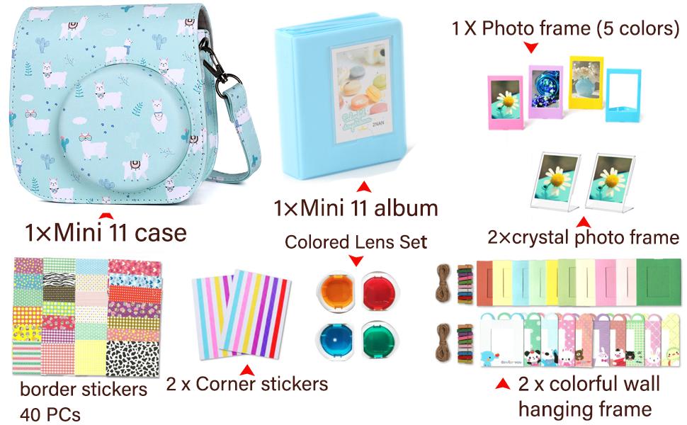 instax mini 11,instax mini 11 case,instax mini 11 accessories,fujifilm instax mini 11