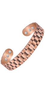 copper bracelet for men large