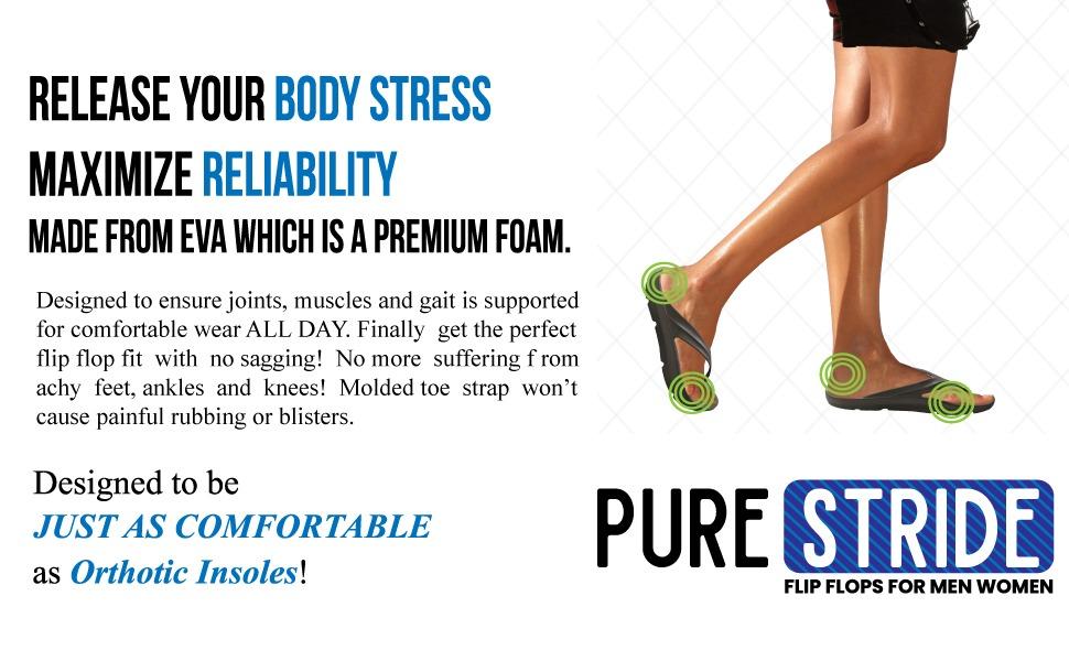 Pure Stride Flip Flop for Women – Flip Flop for Men