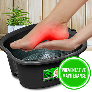 foot basin black foot cure
