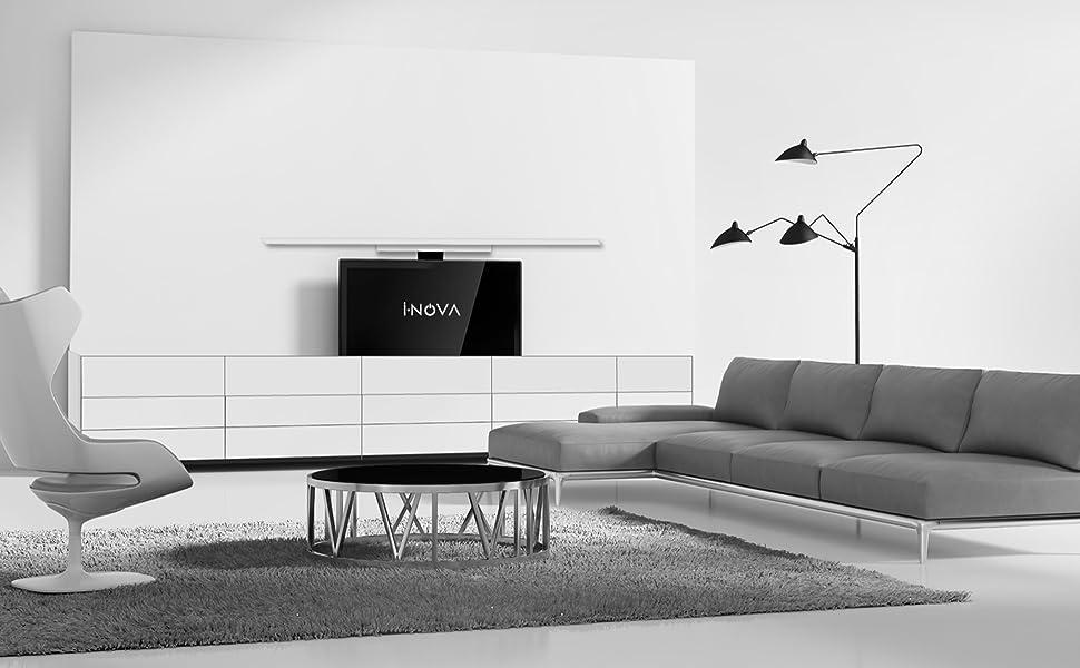 support tv motorisé dans meuble, ascenseur tv