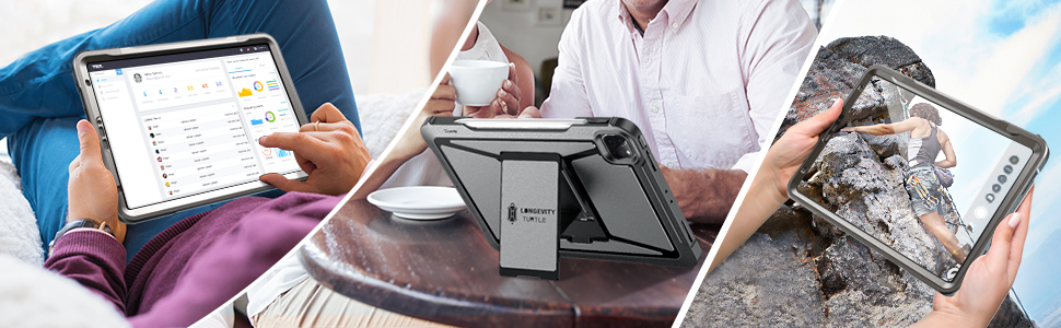 The case can  always protect your ipad