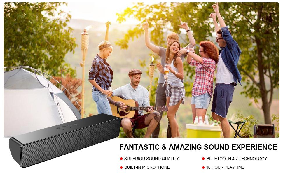 computer speaker bluetooth speaker for pc portable speaker desktop sound bar pc soundbar aux usb