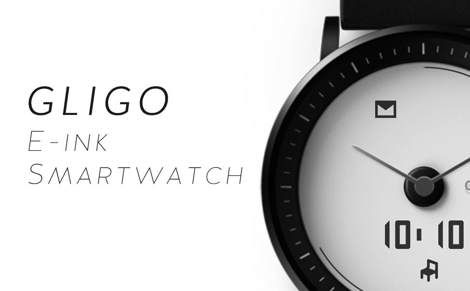 GLIGO E-ink Hybrid Smartwatch