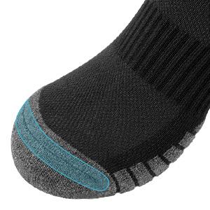 Men's 6 Pairs Athletic Socks Breathable Cushion Comfortable Casual Crew Socks Multi Workout Socks