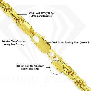 1mm 1.5mm 2mm 2.5mm 3mm 3.5mm 4mm 5mm 5.5mm sturdy versatile vermeil sterling silver micro fiber
