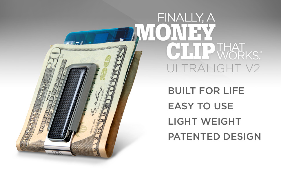 M-Clip money clip - finally a money clip that works