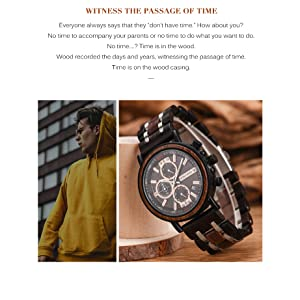bobo bird mens watches waterproof wooden watch watches for men on sale clearance